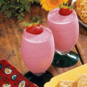 Two-Berry Yogurt Shake