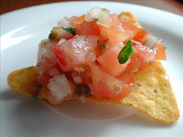 Tx Style Pico De Gallo (Homemade Salsa)