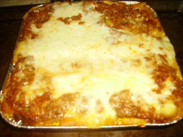 Ultimate No-Fail Lasagna