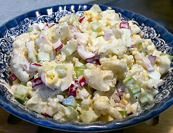 Un-Potato Salad (Low Carb)