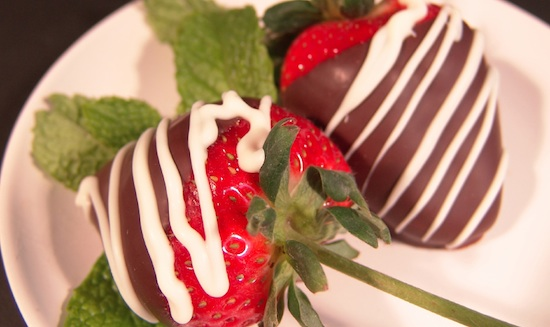 Valentine Night Strawberries