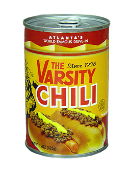 Varsity Chili for Hot Dogs