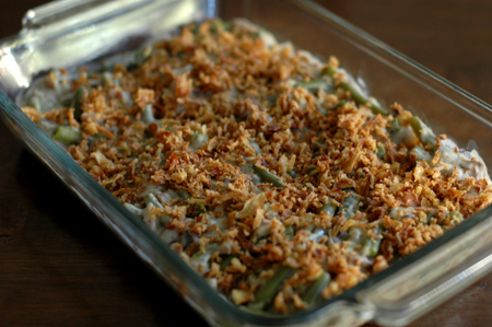Vegan Green Bean Casserole