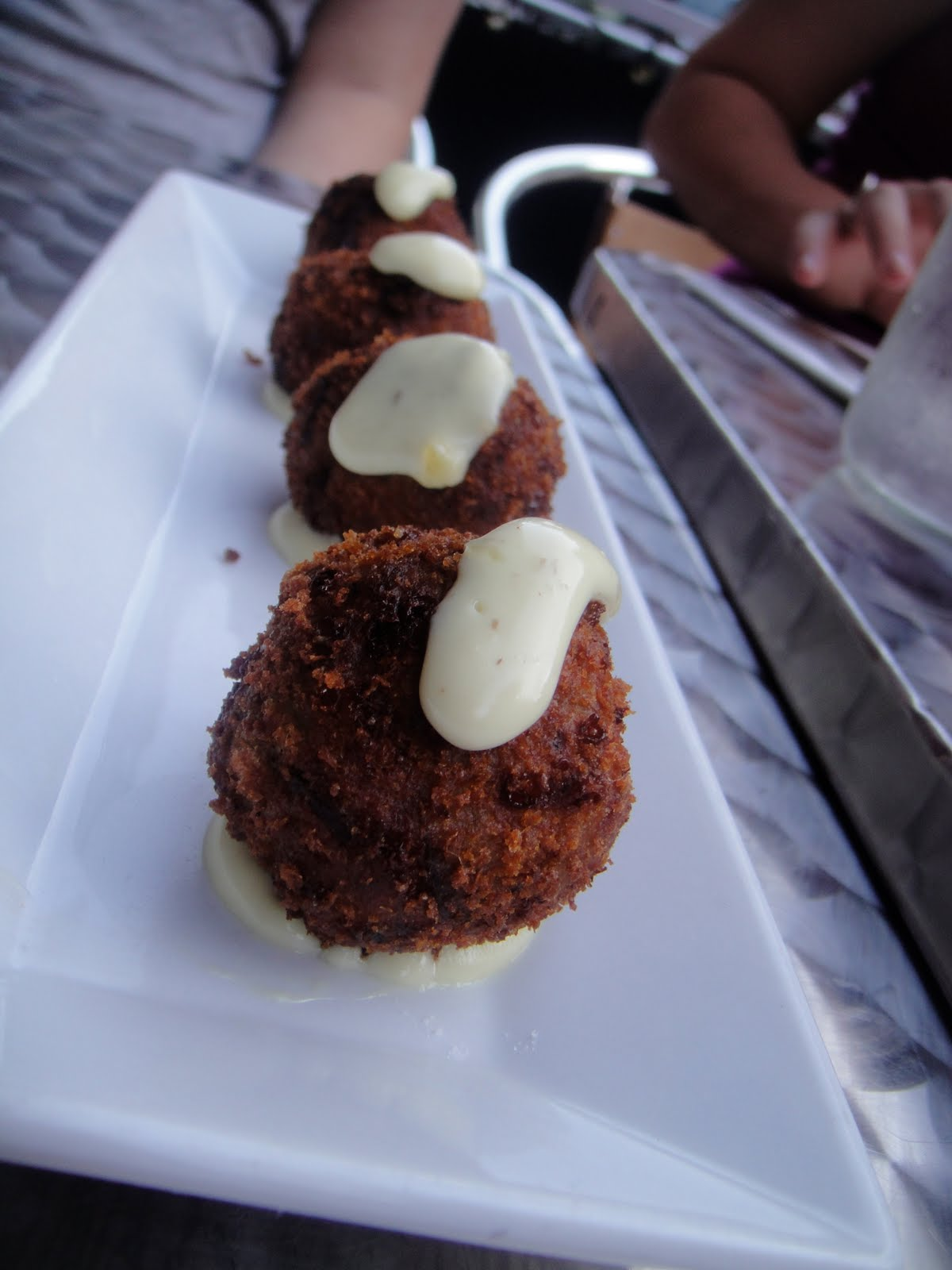 Vegetable and Truffle Croquettes