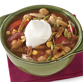Vegetable Garbanzo Chili