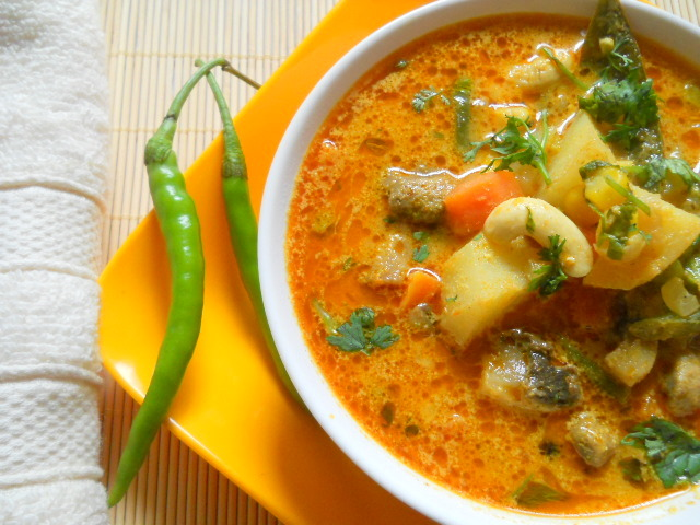 Vegetable Stew from Northern India