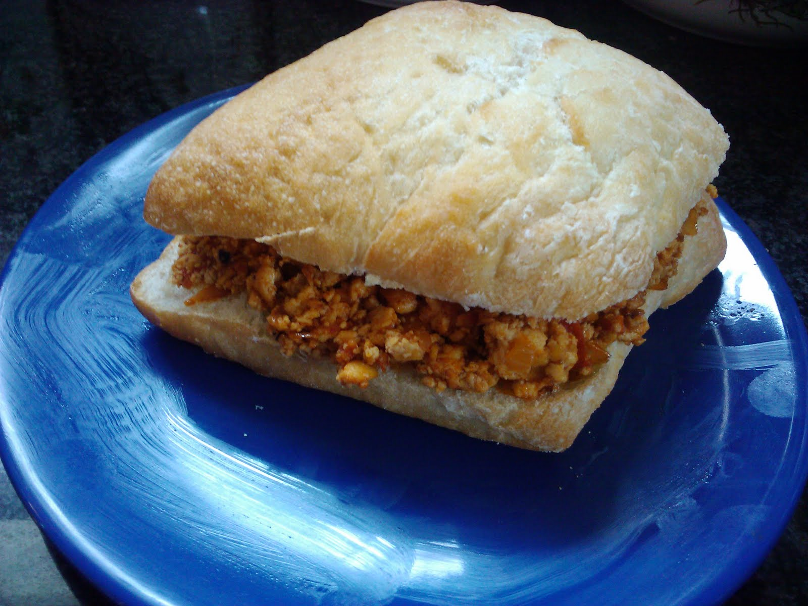 Vegetarian BBQ Sloppy Joes