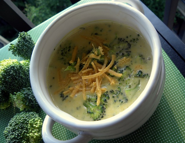 Vegetarian Broccoli Cheese Soup