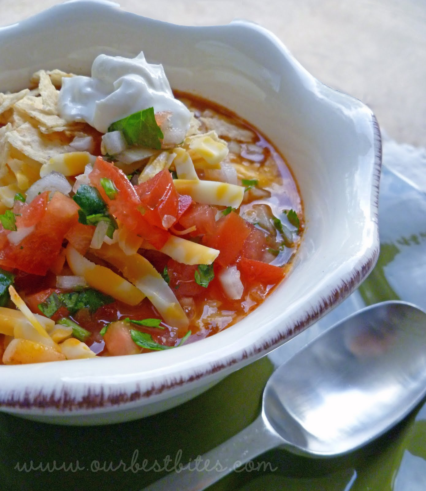 Vegetarian Weight Watchers Taco Soup