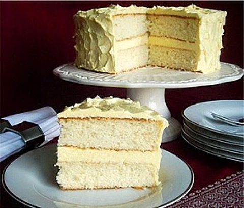Velvet Butter Cake Layers