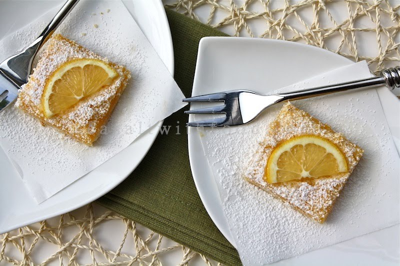 Very Easy Lemon Bars