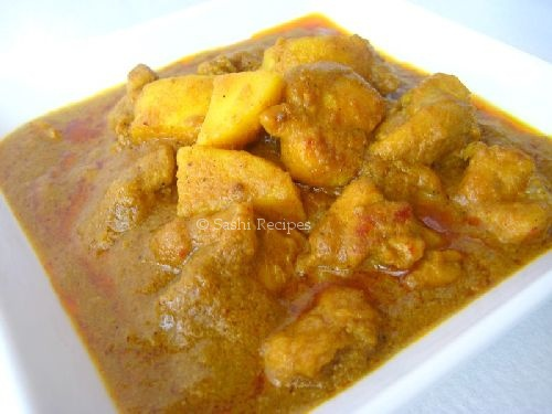 Very Quick Malaysian Chicken Curry