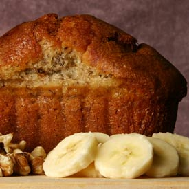 Very Vanilla Banana Bread