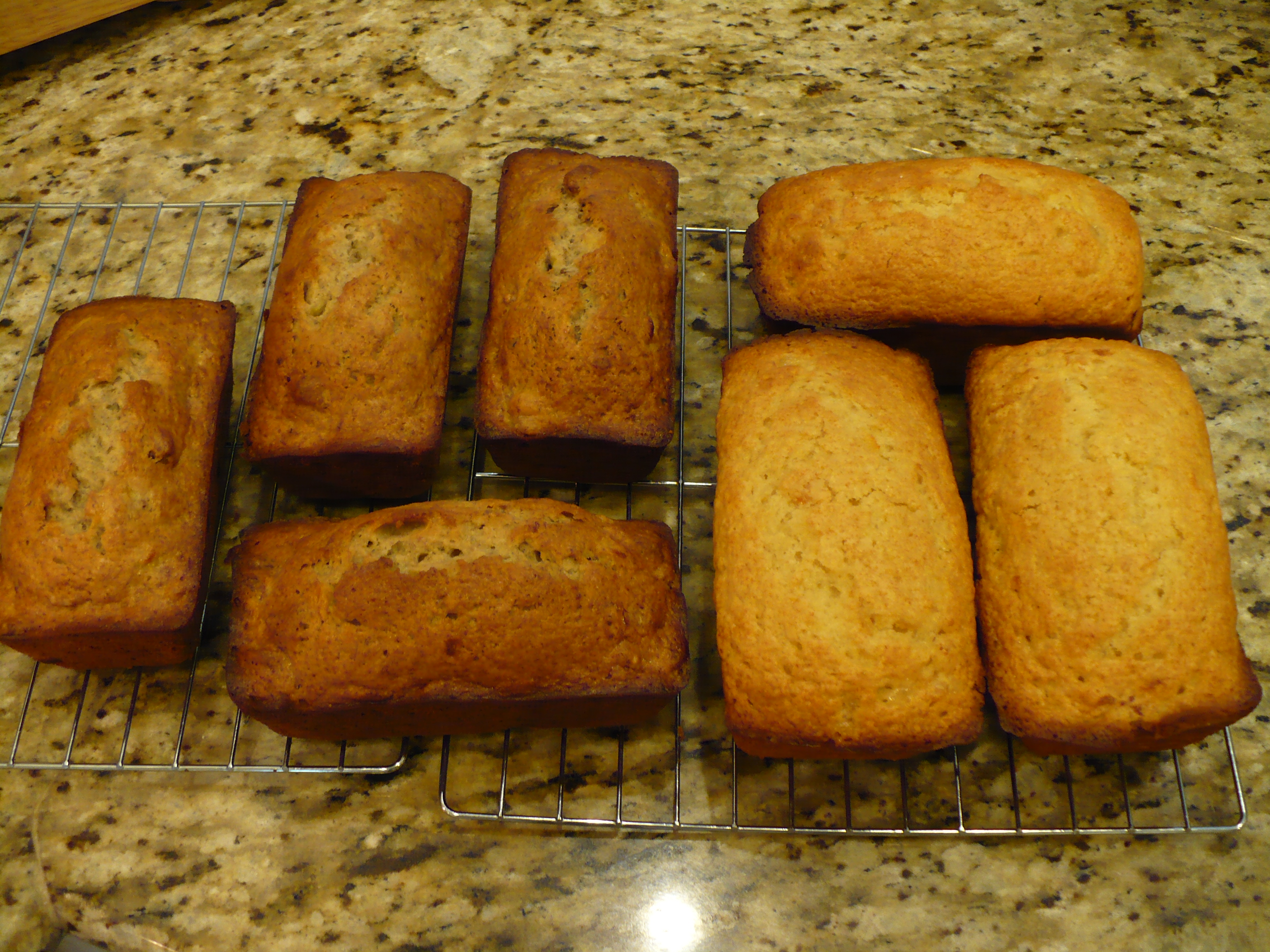 Walnut Marmalade Mini Loaves