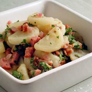 Warm German – and Vegan! – Potato Salad