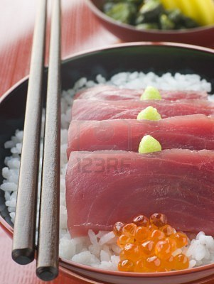 Wasabi Yellowfin Tuna