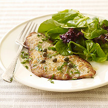 Weight Watchers Veal Piccata