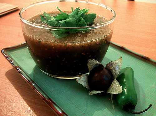 When Chilies Attack: Jalapeno-Cilantro Salsa