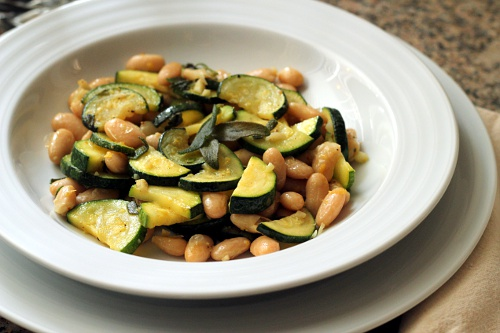 White Beans With Sage