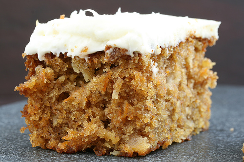 Whole Wheat Carrot Cake with Cream Cheese Frosting