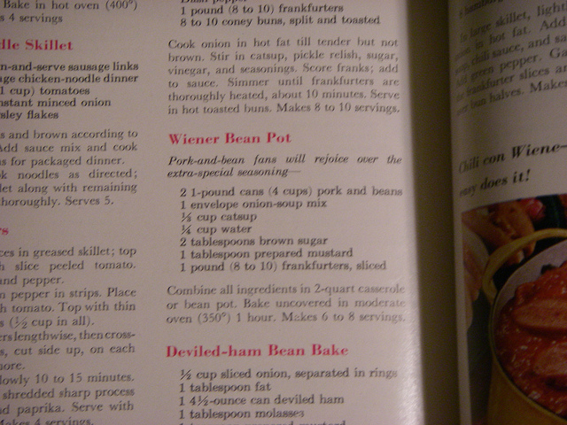 Wiener Bean Pot