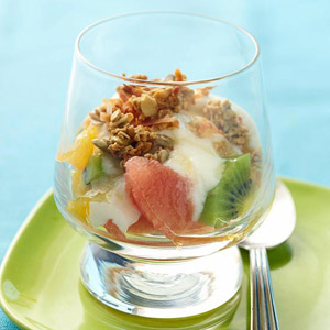 Winter Breakfast Fruit Crunch