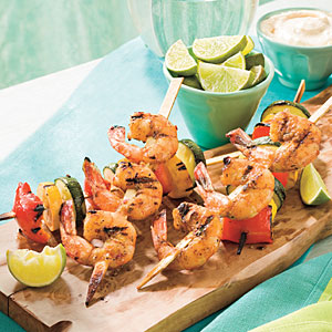 Ww Glazed Shrimp Kabobs - 4 Pts.