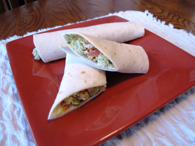Ww Greek-Inspired Scrambled Egg Wraps