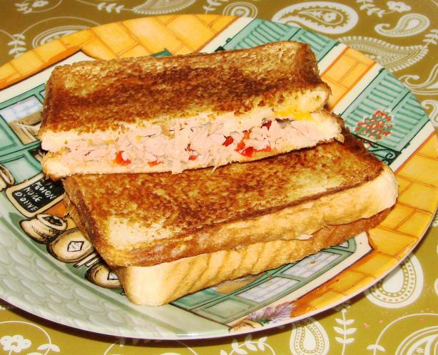 Yummy Grilled Tuna and Cheese Sandwiches