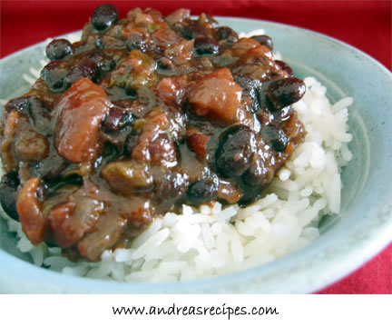Yummy, Spicy Black Beans and Rice