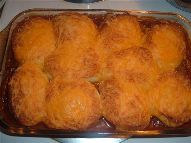 Zesty Biscuit Bean Bake