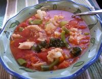 Zone Diet Quickie Soup