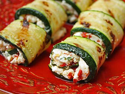 Zucchini and Cheese