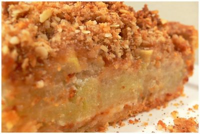 Zucchini Pie with Crumb Topping